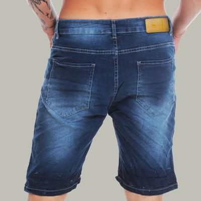 Bermuda Jeans Skinny Blue Basic Dabliu