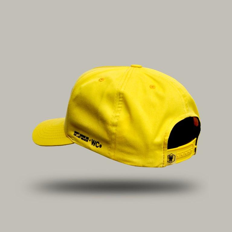 Bone Aba Curva Dabliu Costa Yellow
