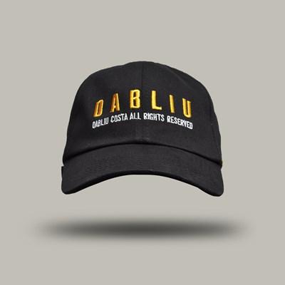 Bone Aba Curva Dad Hat Dabliu Yellow Reserved