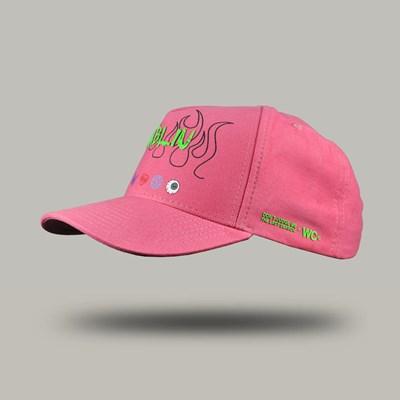 Bone Aba Curva Flame Pink Dabliu