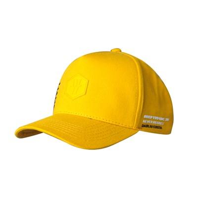 Boné Dabliu Aba Curva Hexagono Amarelo
