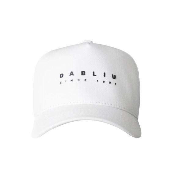 Boné Dabliu Aba Curva Since 1991 White