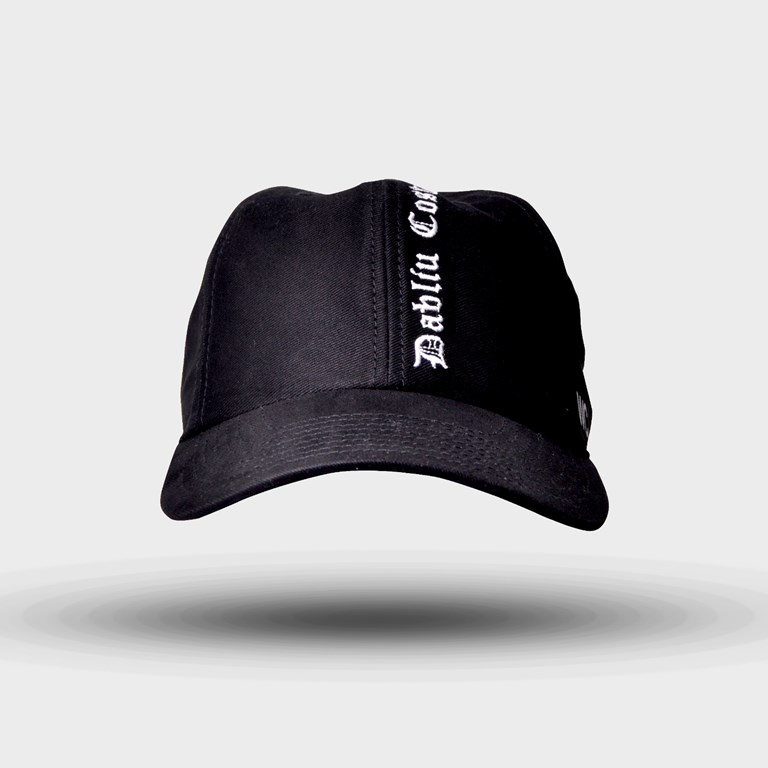 Boné Dad Hat Dabliu Preto