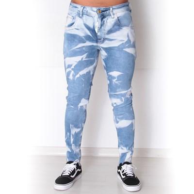 Calca Jeans Dab x Titto Sky Tie Die