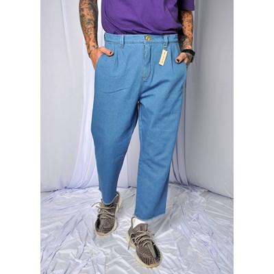 Calca Jeans Straight Vintage Dabliu Azul