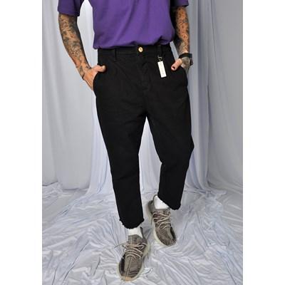 Calca Jeans Straight Vintage Dabliu Preta