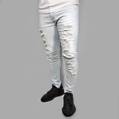 Calca Jeans Super Skinny Light Blue Dabliu