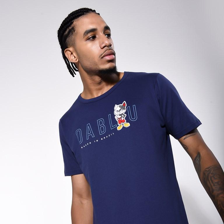 Camiseta Dabliu Dab Blue