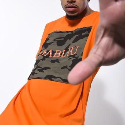 Camiseta Dabliu Orange Camu