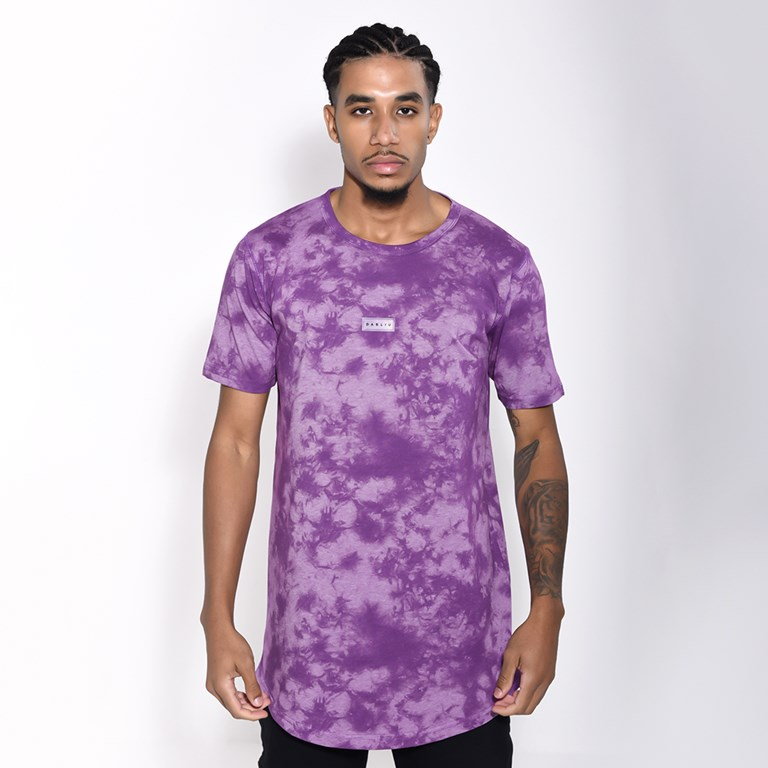 Camiseta Dabliu Tie Dye Purple