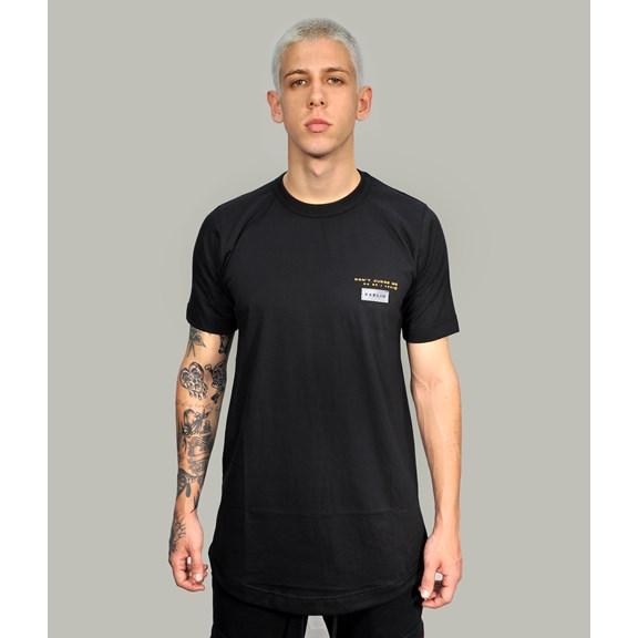 Camiseta Long Basic Black New Tag