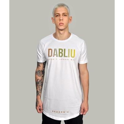 Camiseta Long Branca New Bandana Dabliu