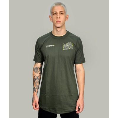 Camiseta Long Dabliu Green
