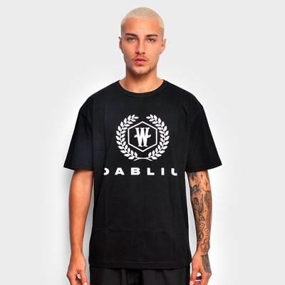 Camiseta Preta Brasão Dabliu