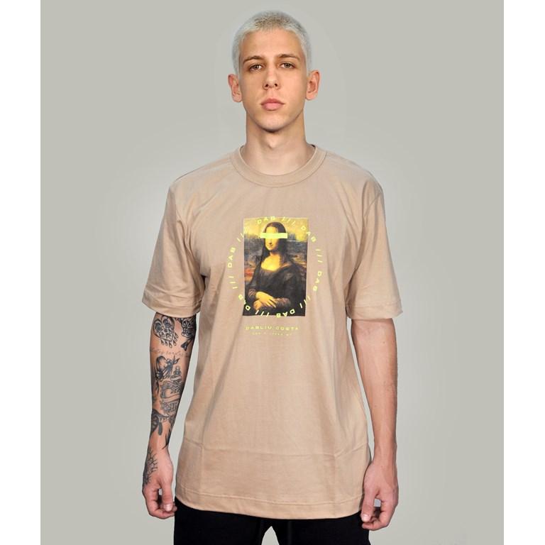 Camiseta Regular Marrom Monalisa Dabliu