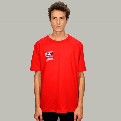 Camiseta Regular Statue Red Dabliu