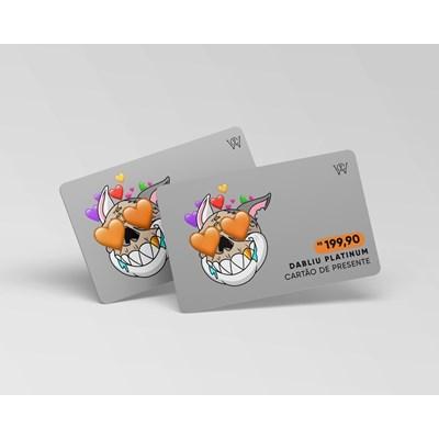 Cartão virtual presente R$ 199,90