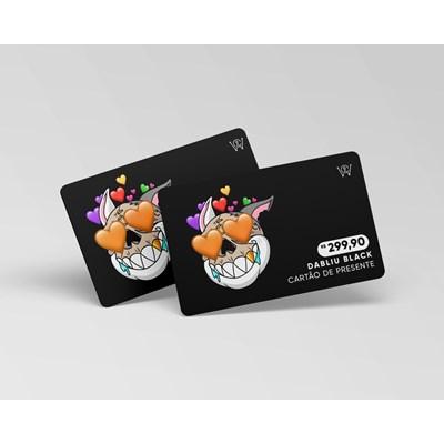 Cartão virtual presente R$ 299,90