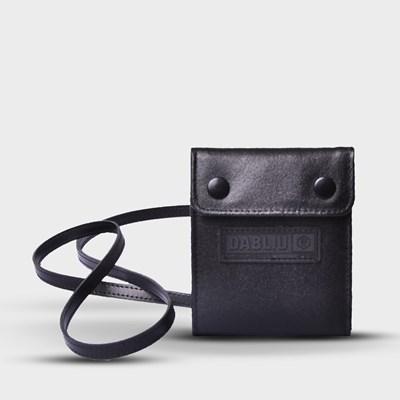 Mini Bag Botão Couro