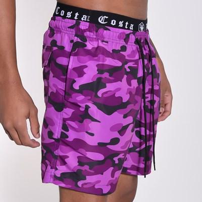 Short Beach Camu Purple
